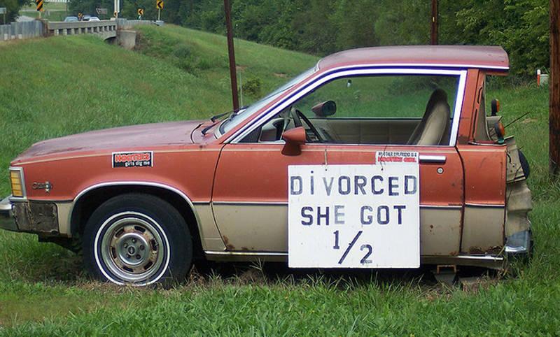 Divorced - She Got Half