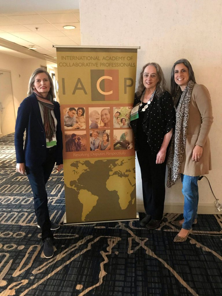 CDSOC Members (from left to right) Terri Breer (Lawyer), Dr. Carol Hughes (Divorce Coach/Child Specialist), and Diana L. Martinez (Lawyer) at IACP's Annual Conference in Lake Las Vegas.